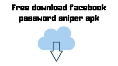 Free download facebook password sniper apk